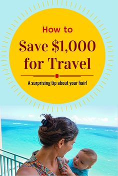 Want to save money for travel? This surprising tip about your hair can give you an extra $1,000 a year for fun vacations like this one we took in Puerto Rico!