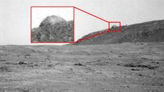 NASA Picture Shows A Dome On Mars