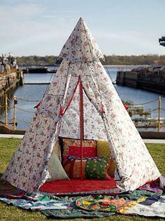 pretty tent