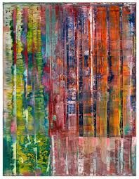 Gerhard Richter (done with squeegee?)