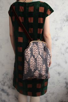 Love the handbag. mina perhonen
