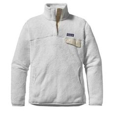 Patagonia women's fleece Women's super soft ivory Patagonia fleece size large. I typically wear a medium but I liked this piece as a large.. More comfortable! There is a small stain on the front of the fleece, captured in 3rd image. Would most likely come out completely if washed a few times. Patagonia Jackets & Coats