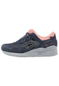 sneakers for cheap a6e95 1d8fe Chaussures ASICS GEL-LYTE III - Baskets basses - india ink bleu foncé  115