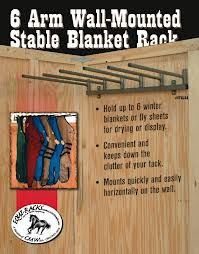 horse blanket rack - maybe make one from pvc pipes?
