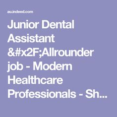 Dental Assistant community college sydney australia