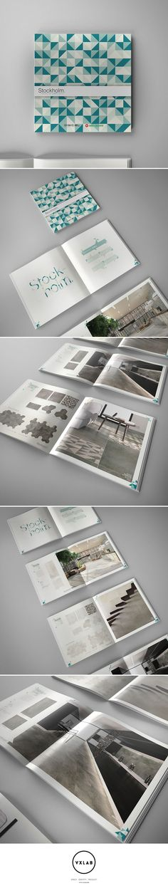 Stockholm Collection Catalogue for Niro Granite. Design by VXLAB Branding & Design Direction www.vxlab.org