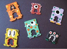 Halloween Eco-friendly Craft – Recycled Bread Tag Monsters