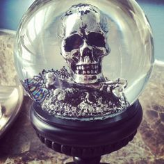 snow globes halloween - Google Search