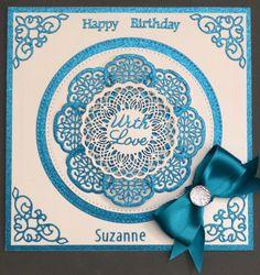 Sue Wilson, Die Cutting, Happy Birthday, Design, Happy Brithday, Urari La Multi Ani, Happy Birthday Funny, Happy Birth