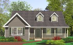 View our numerous modular home floor plans and elevations, like this Newmarket.