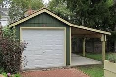 Add on garage plans 12x20 classic one car garage for 20x30 carport plans