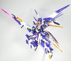 GUNDAM GUY: 1/144 00 VXS-Qan[t] - Custom Build
