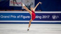 Elena Radionova of Russia