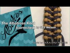 The (Corrected) Albatross Knot Paracord Bracelet design by SFS Weaver tutorial Paracord Phoenix. - YouTube