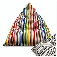 "Missoni Home Rainbow Bean Bag 48"" x 41"""