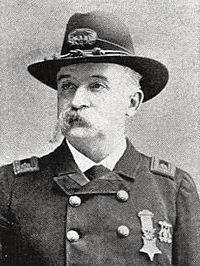 Major James Joseph Quinlan, Union Army Medal of Honor recipient Battle of Savage's Station, Virginia, American Civil War June 29, 1862.