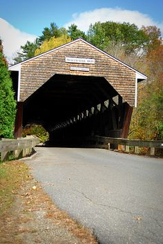 Swiftwater Covered Bridge Bath, NH (Circa 1849) | by FJ Beaudoin Photography