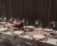 #hobart #wedding #bride #bridal #planning #stylist #bohemian #modern #boho #inspo #vendor #inspo #tasmania Wedding Vendors, Wedding Events, Bored At Home, Ghost Chairs, Stationary Design, Beautiful Textures, Wedding Designs, Centerpieces, Table Settings