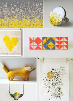 because yellow is the happiest color!