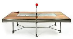 ping pong table dining table hybrid - Google Search