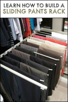 Ikea Closet System, Ikea Pax Closet, Closet Storage, Closet Organization, Organizing, Organizar Closet, Pants Rack, Driven By Decor, Master Bedroom Closet