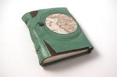 Handmade Leather Journal or Sketchbook  Wanderlust by ConduitPress, $70.00