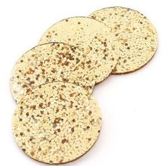 Kate Spade Happy Hour Glitter Coaster Set #shopwaitingonmartha