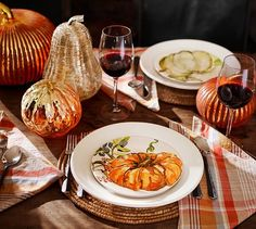 Ready to host the best Halloween party ever? Stock up on pumpkin decorations in every shape and size — glass pumpkins, orange pumpkins and gold pumpkins galore! Fall Appetizers, Halloween Appetizers, Appetizer Recipes, Fall Table, Thanksgiving Table, Thanksgiving Decorations, Thanksgiving Recipes, Halloween Decorations, Pumpkin Salad