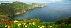 Azores. terceira, la isla más animada.
