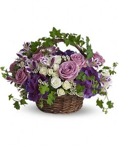 Send get well flowers from a real Baltimore, MD local florist. House of Arnold Florist has a large selection of gorgeous floral arrangements and bouquets. We offer same-day flower deliveries for get well flowers. Purple And White Flowers, Fresh Flowers, Spring Flowers, Silk Flowers, Beautiful Flowers, Purple Hydrangeas, Lavender Roses, Beautiful Life, Deep Purple