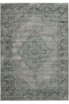 Blue Gray Rug! much lower cost compared to the restoration hardware rugs!