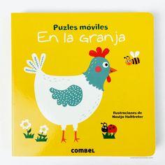 Un divertido libro puzzle para desarrollar la motricidad y la observación