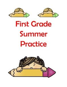 First Grade Summer ActivitiesFirst Grade Summer Homework {Editable}This product includes resources for student leaving the first grade and entering the second grade in the fall. This will be perfect for your math centers, literacy centers, morning work, homework, RTI, or even for enrichment for those early finishers you have!Directions:Print these documents double sided.