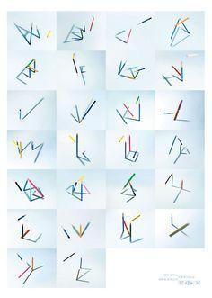 PLAY(2010)鉛筆とその影の実験ポスター