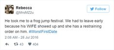 20+ Hilarious First-Date Disasters That Will Make You Laugh
