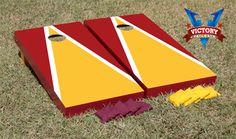 Our Redskins themed #cornhole design. #redskins #victorytailgate
