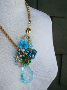 Blue Beauty. $59.00, via Etsy.