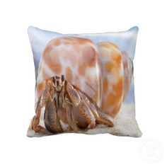Hermit Crab Pillow...I want this