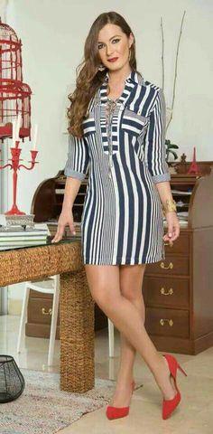 Vestido Curto – Dicas e modelos para diversas ocasiões Simple Dresses, Sexy Dresses, Casual Dresses, Short Dresses, Casual Outfits, Modest Fashion, Fashion Dresses, Elegant Outfit, African Dress