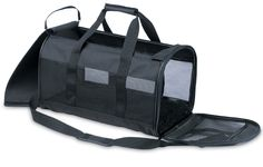 Soft Sided Pet Taxi - Black >> Save this wonderfull item : All pet supplies