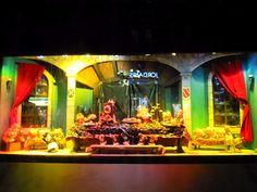 Sydney - City and Suburbs: David Jones department store, Christmas windows Christmas Window Display, Christmas Windows, Christmas Store, Christmas Shopping, Christmas Lights, Xmas, Perry Como, Sydney City, How To Attract Customers