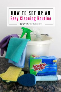 Get your house beautifully clean with these easy tips on how to set up a regular routine to clean. Plus get a FREE cleaning checklist!