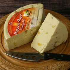 Traditional Wensleydale with Mango and Ginger (7.5 ounce) by igourmet