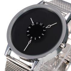 Új divat Férfi dátuma Rozsdamentes acél Luxus Sport Analog Quartz Wrist Watch | eBay