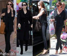 angelina jolie style   Angelina Jolie Street-Style