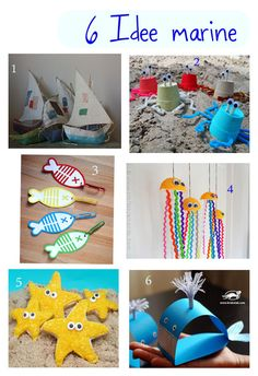 Sea craft projects for kids, school art projects, arts and craf. School Art Projects, Craft Projects For Kids, Arts And Crafts Projects, Art School, Diy And Crafts, Crafts For Kids, Ocean Theme Crafts, Hanging Artwork, Under The Sea Theme