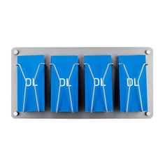 Wall mounted leaflet holders are perfect for offices, receptions, foyers and showrooms. & DL models available. Brochure Holders, Display Wall, Signage Design, Wall Mount, Shelf, Design Inspiration, Interior Design, Silver, Ideas