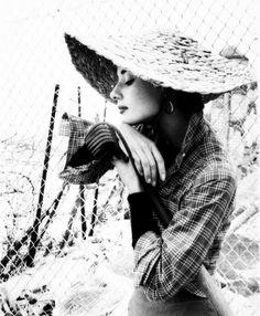 Audrey Hepburn in Los Angeles, 1953. Photo by Milton Greene