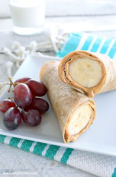 Regardless if you're 3 or 63, no one can resist our peanut butter banana wraps recipe. It's an easy snack or lunch, and it can be easily modified using your favorite ingredients (think chocolate chips, peanuts and beyond)!