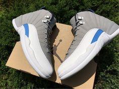 Air Jordan XII Retro 12 Wolf Grey University Blue White Midnight 130690-007